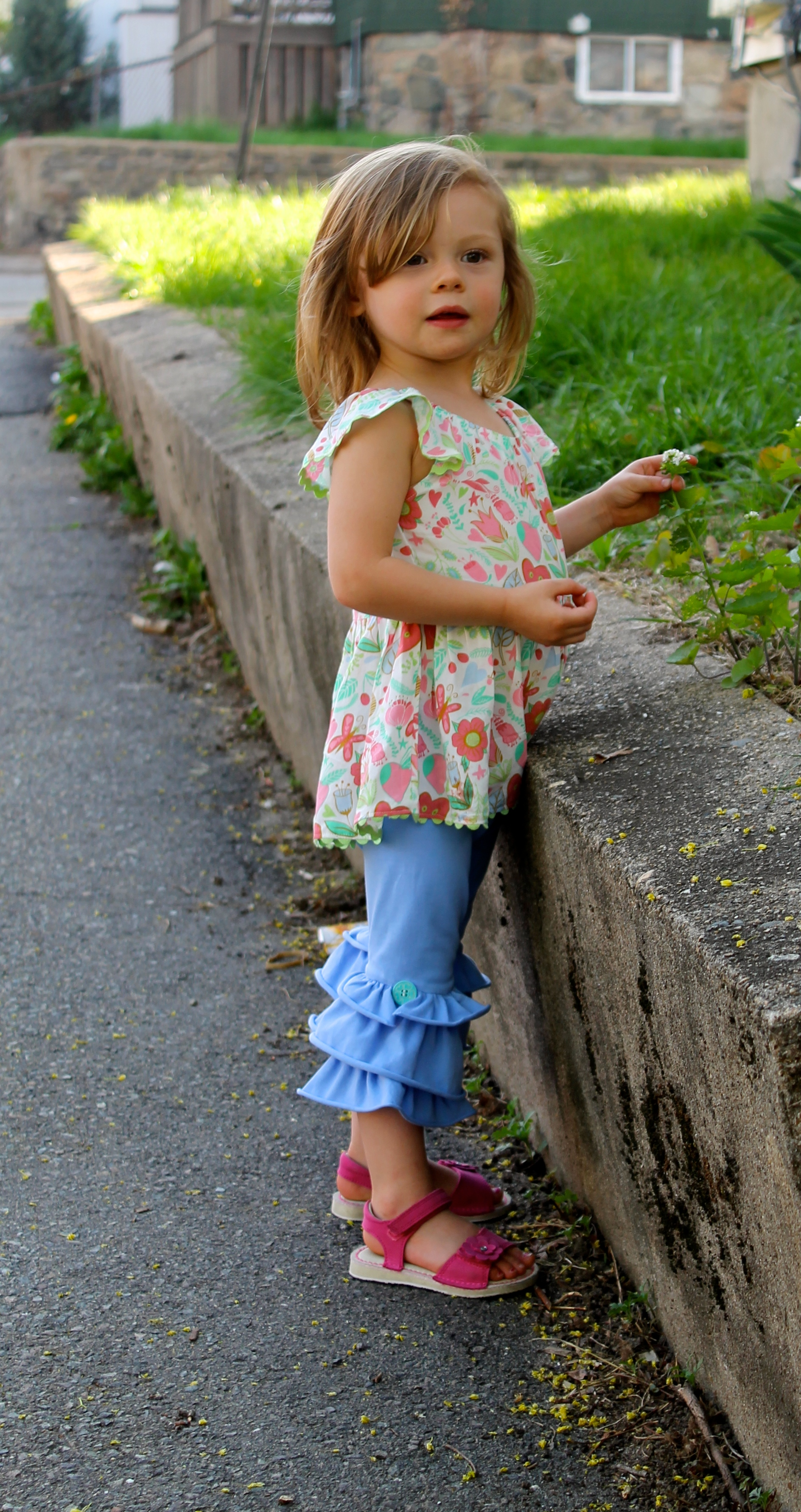 "a93252c7d4c7b Featured Outfit: Matilda Jane ""Happy Hearts"" Top (Pink Snow Cones ..."